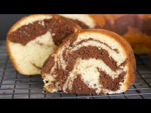 Torta Marmoleada   Cómo Hacer Un Pastel Marmoleado   SyS