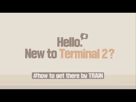 [Incheon Airport] New to Terminal 2? #how to get there by TRAIN _ENG