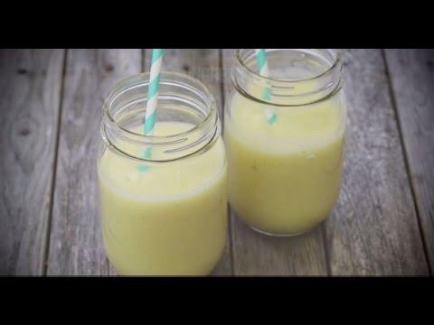 How to Make a Pineapple and Banana Smoothie | Smoothie Recipes | Allrecipes.com