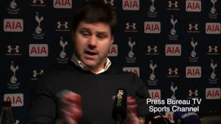 Mauricio Pochettino reaction Tottenham vs Chelsea