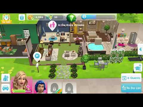 How to move the RUG on The Sims mobile tutorial