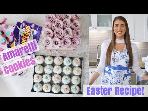 Amaretti Easter Recipe | Italian Almond Cookies