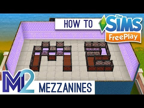 Sims Freeplay - How to Build a REAL Indoor Balcony, Loft or Double-Height Room (Early Access)