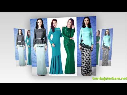 Baju Muslim Model Terbaru Baju Kurung Baju Gamis Terbaru Baju