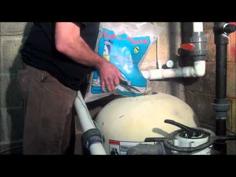 POOLCENTER.com - How to change pool filter sand