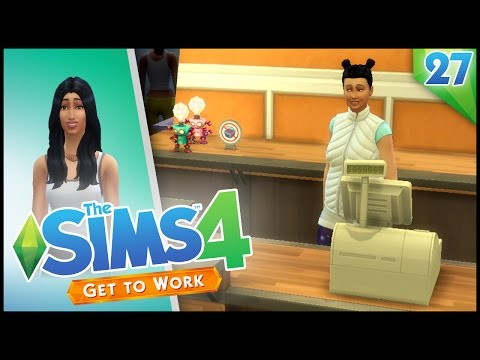 The Sims 4 Get to Work! - SHOPS!