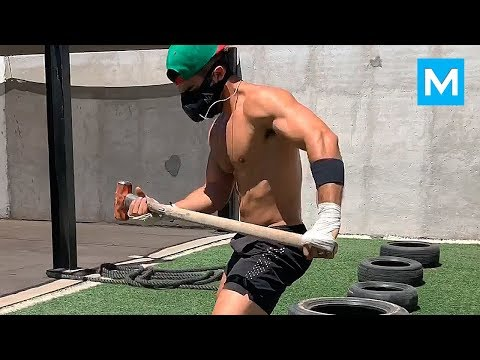 Extreme Boxing Training - Chuy Almada | Muscle Madness