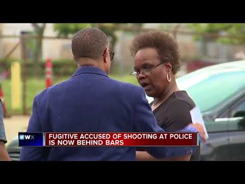 Police arrest man accused of shooting at officers