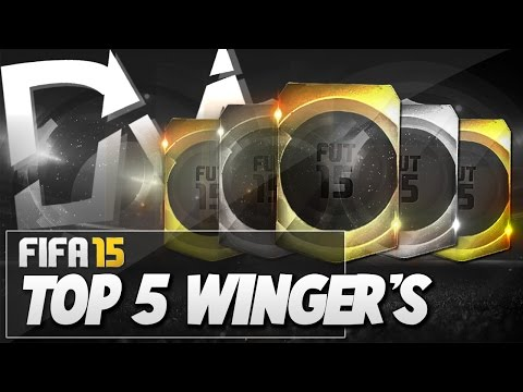 Top 5 Best Wingers in FIFA 15 Ultimate Team  - Guide to Best Squad (FUT 15)