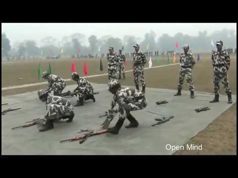Commando training one minute drill