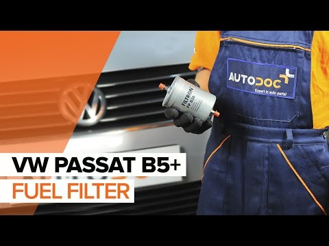 How to replace fuel filter on VW PASSAT B5+ TUTORIAL | AUTODOC