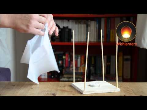 Floating Water Lanterns - Learn How to Assemble (Wishlantern)