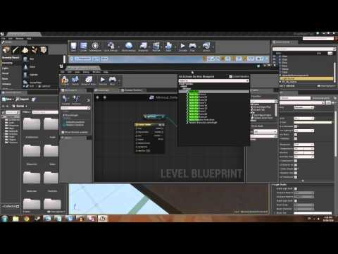 Unreal Engine 4: Day night cycle using Blueprint.