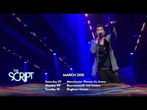 The Script Announce 2015 UK Arena Tour