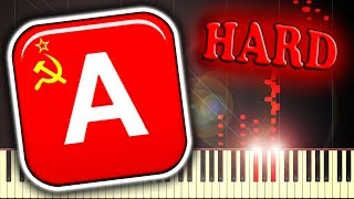 RED ALERT 3 - SOVIET MARCH - Piano Tutorial - PakVim net HD