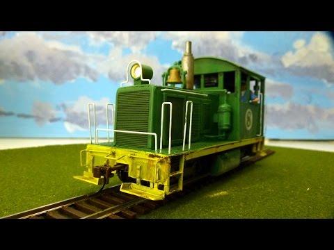 An On30 Diesel 'Critter' Locomotive Kitbash