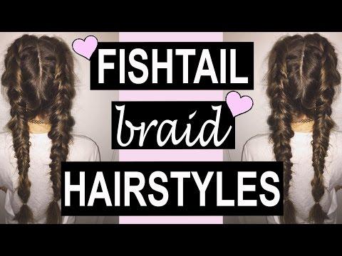 5 Fishtail Braid TUMBLR Hairstyles!