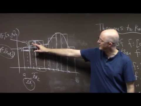Intro Real Analysis, Lec 19, Part 1, Conditions for Riemann Integrability
