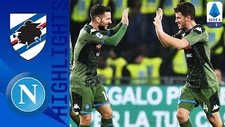Sampdoria 2-4 Napoli | Demme and Mertens Seal Victory in 6-Goal Thriller! | Serie A TIM