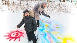 3 Colors Challenge | Alex si Mama Deseneaza pe Zapada