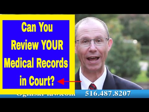 Subpoenaed Medical Records: Can You Review Them During Your Medical Malpractice Trial?