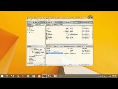 How to Create Windows 8.1 Bootable USB Drive using UltraISO