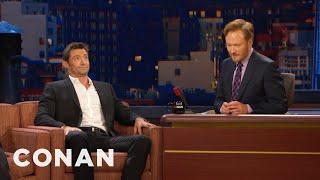 Hugh Jackman Impersonates Conan   CONAN on TBS