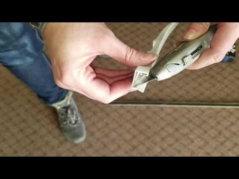 Hurd Sliding Patio Door - Replace U Channel #505
