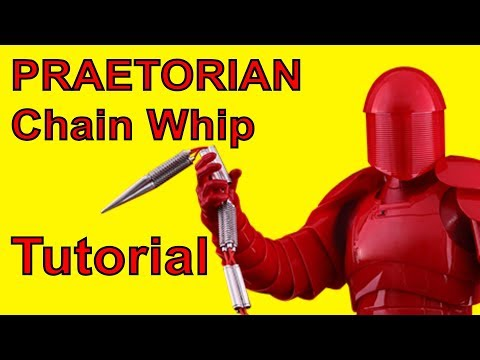 How To Make A PRAETORIAN Chain Whip (Star Wars DIY)