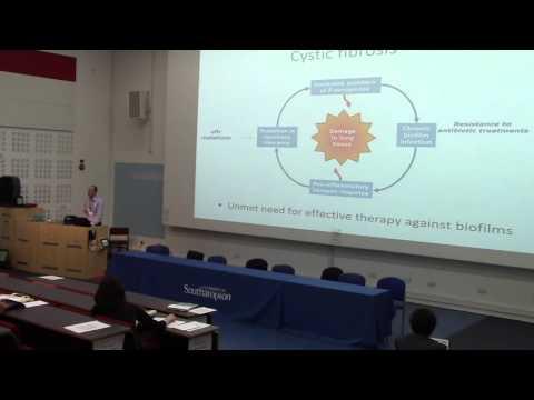 Breaking antibiotic resistance in bacterial biofilms - Prof. Jeremy Webb