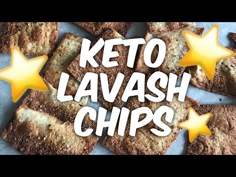 Keto Lavash Bread Chips - Perfect Low Carb Appetizer!