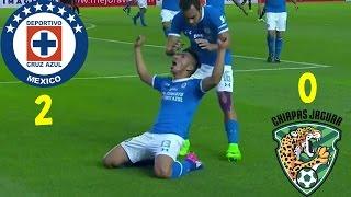 Cruz Azul (2) - (0) Chiapas | Jornada 9 | Clausura 2017 | Liga Mx | Resumen Completo