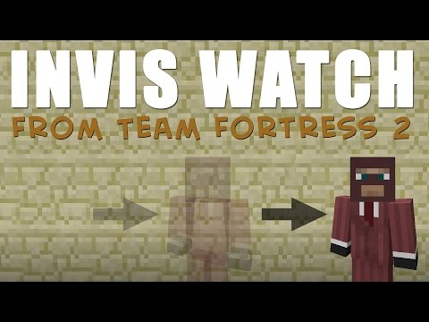 √ Minecraft: How to make an INVIS WATCH