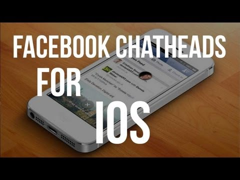 Get FaceBook Chat-Heads On iOS