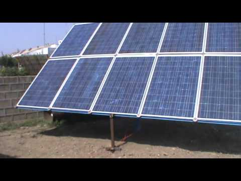 10 KW solar power plant testing flour mill