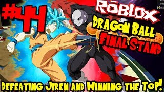 DEFEATING JIREN! I WON THE TOURNAMENT OF POWER! | Roblox: Dragon Ball Final Stand - Episode 44
