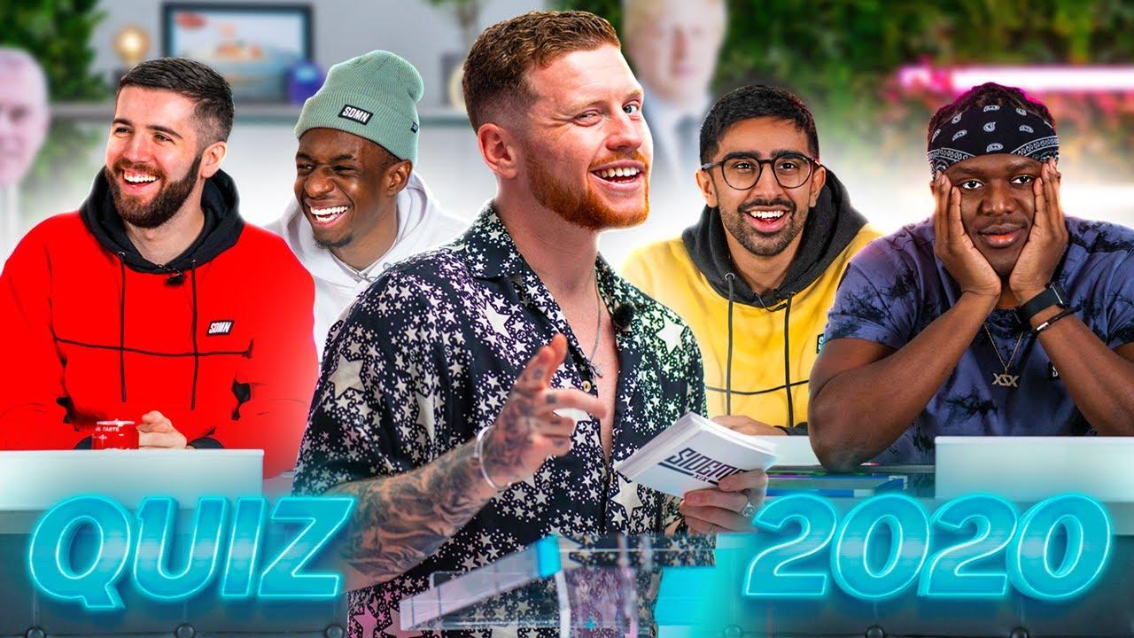 SIDEMEN BIG FAT QUIZ OF THE YEAR 2020