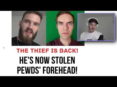 pewdiepie is sick and tired of jacksfilms stealing stuff from him
