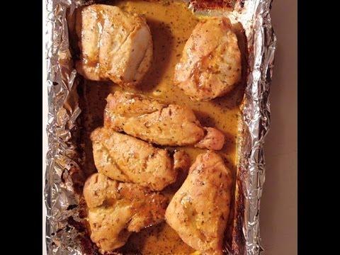 Baked Honey Mustard Chicken - Recipe Wednesday