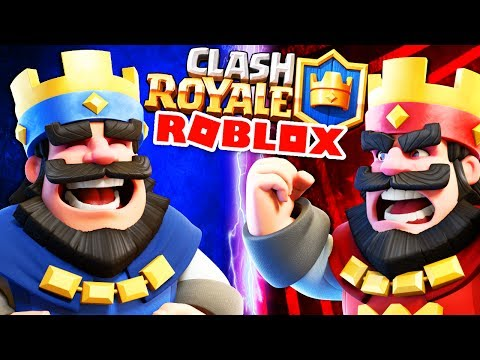 CLASH ROYALE ON ROBLOX MOBILE! | Mobile Game | Let's Play Roblox Mobile (Clash Royale) Gameplay