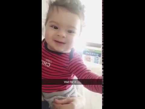 Cutest Baby throwing up