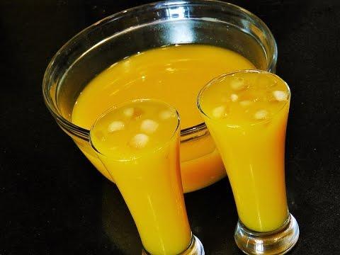मँगो फ्रुटी    Mango Frooti Recipe   Mago Juice Recipe   madhurasrecipe   Summer Drink for Kids