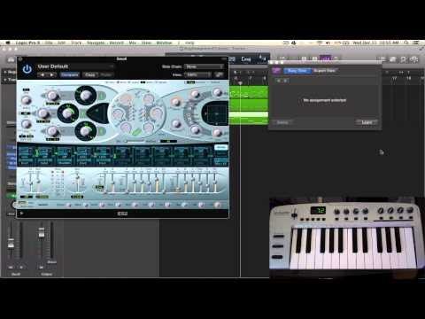 Logic Pro X Tutorial - Controller Assignments