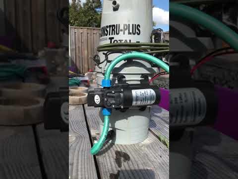 Diy electric weed sprayer
