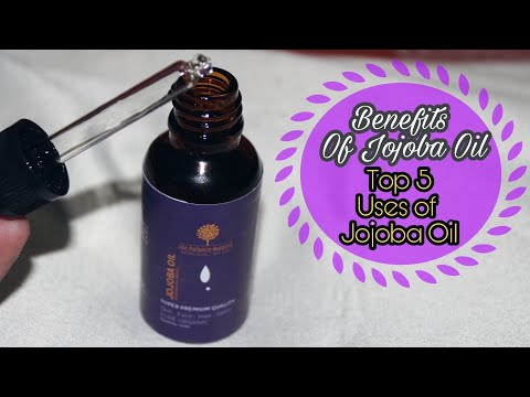 Jojoba Oil | Skin & Hair Benefits | HINDI |