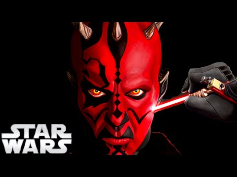 How Did Darth Maul Get His Tattoos? - Star Wars Explained