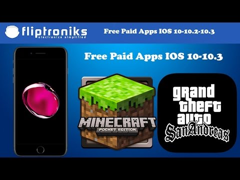 NEW IOS 10-10.2-10.3 Get PAID Apps/Games FREE (NO Jailbreak)- Iphone 7/7Plus/6/6Plus/6s/6sPlus