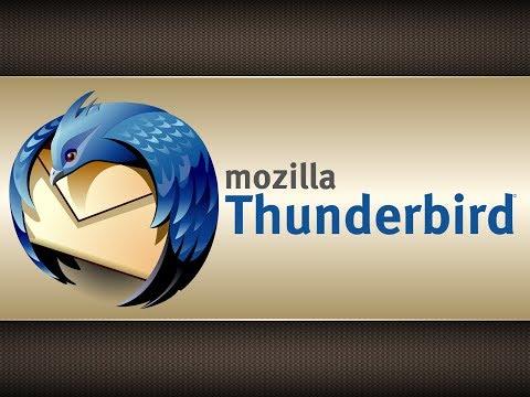Setting up email on Mozilla Thunderbird
