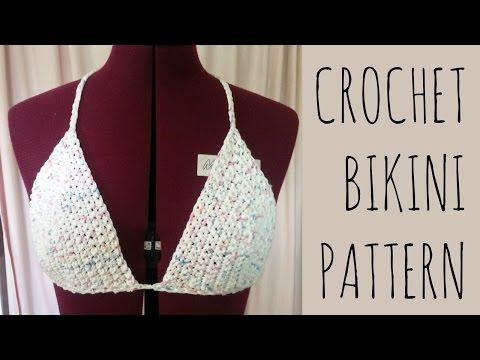 Crochet Bikini Top | Easy Pattern