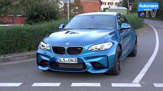 2017 BMW M2 Manual (370hp) - DRIVE & SOUND (60FPS)